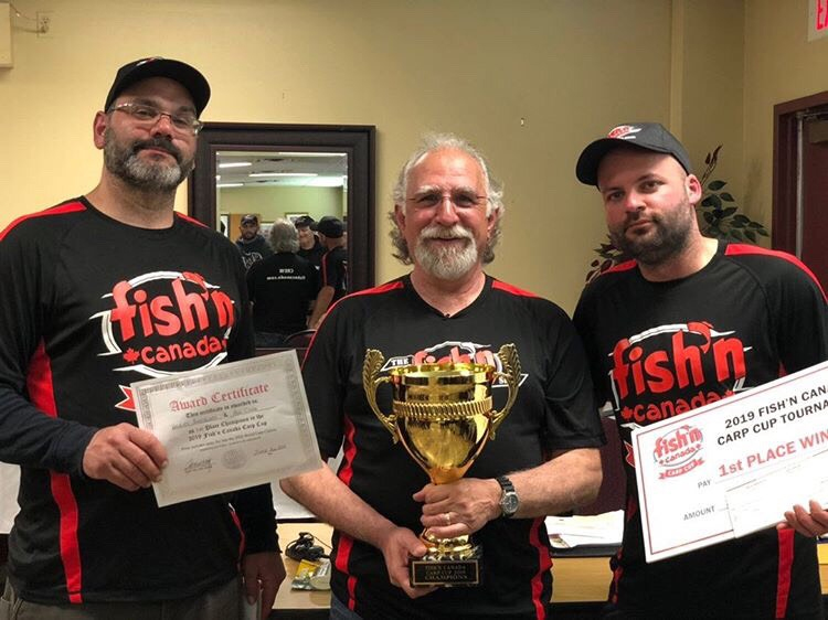 2019 Fish'n Canada Carp Cup Winners– June 22, 2019