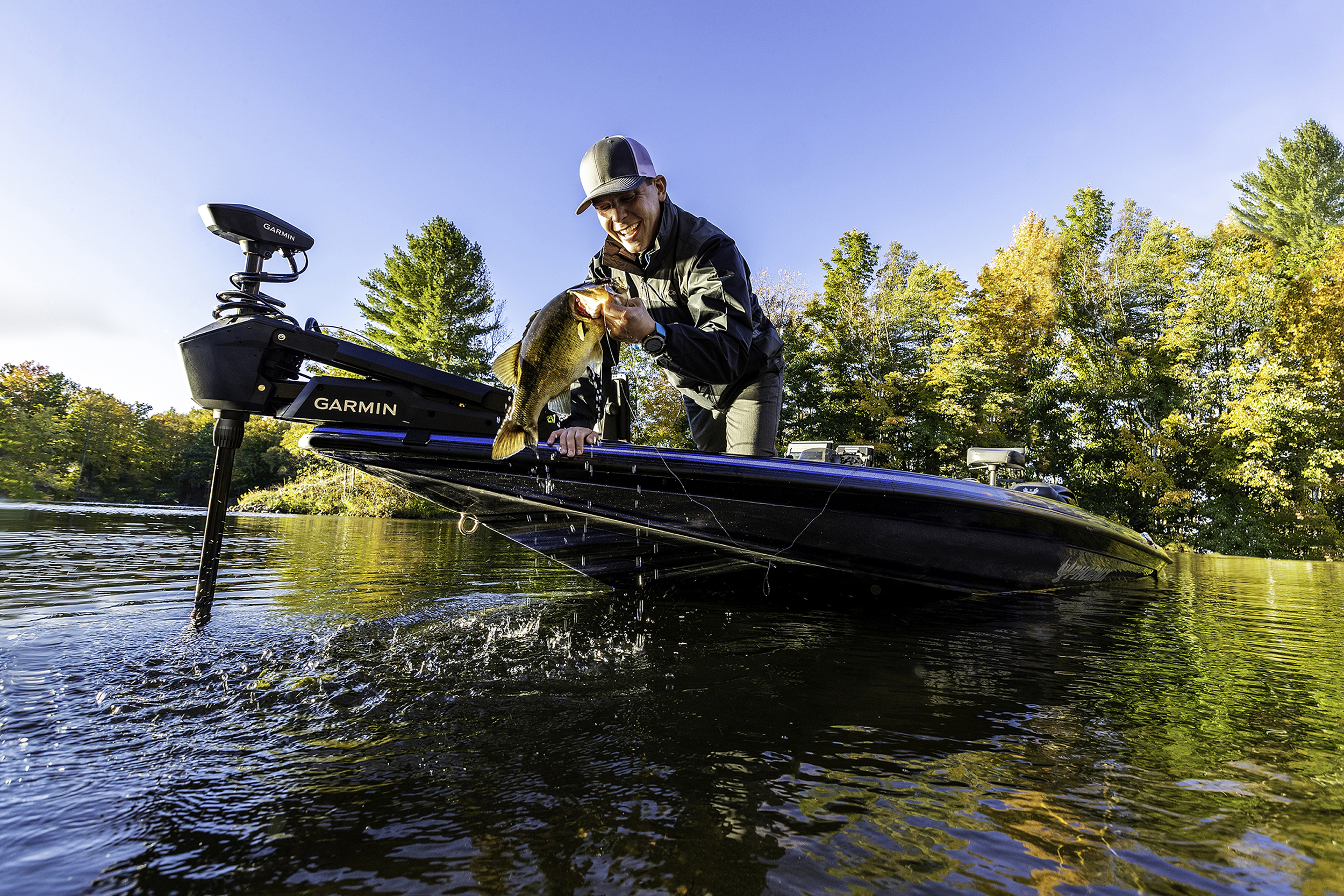 Garmin® enters the freshwater trolling motor market with Force