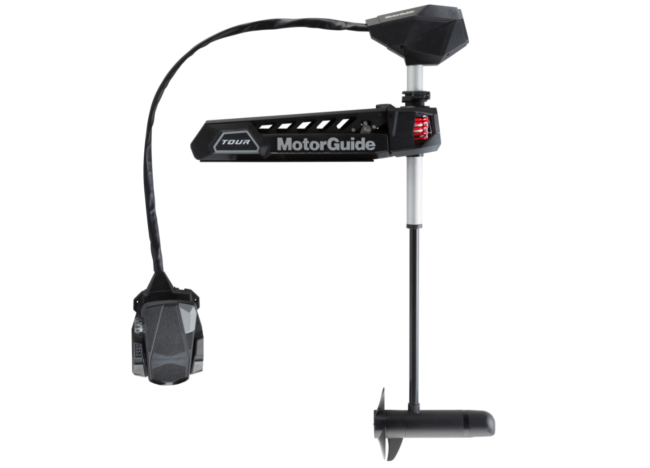 Motorguide Introduces true cable steer motor with GPS anchor