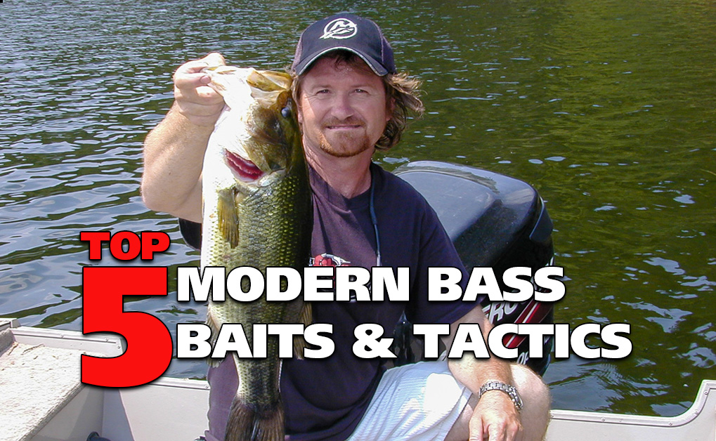 Top 5 Modern Bass Baits and Tactics