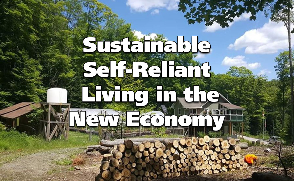 Sustainable Self-Reliant Living in the New Economy
