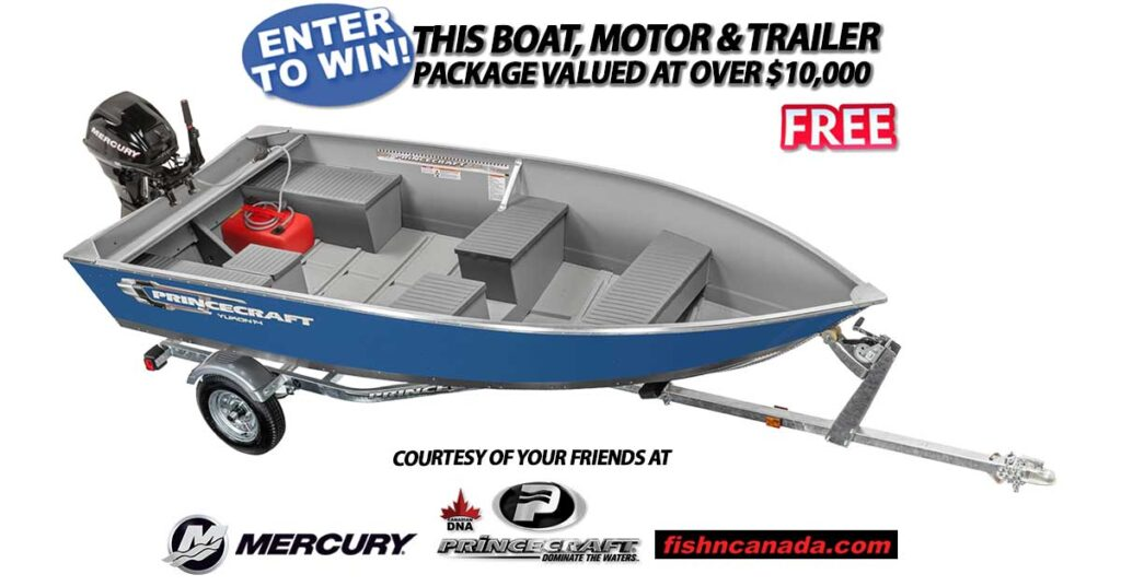 Boat, Motor and Trailer Giveaway