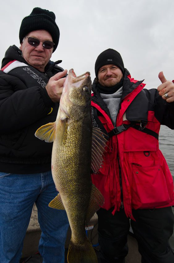 Bob and his guide with another beauty!