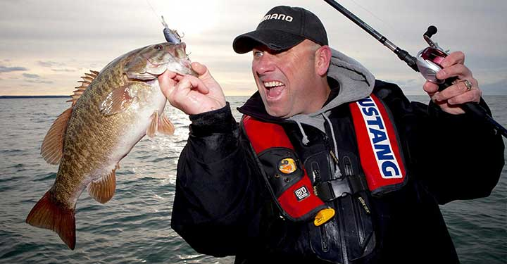 Dave Mercer host of Facts of Fishing Tv Show