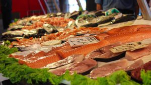 Julia Levin joins Angelo and Pete to talk about Seafood fraud